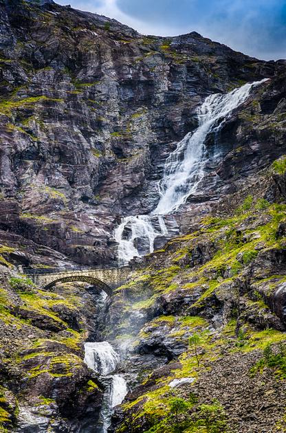 The Stunning Stigfossen Waterfall