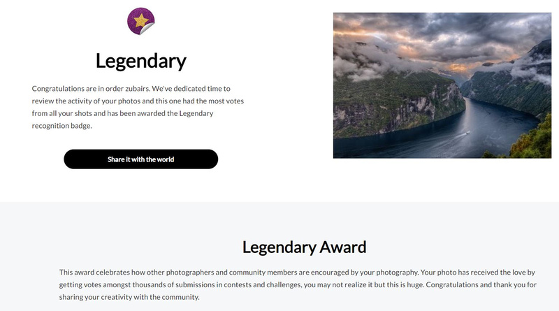 Viewbug Legendary Award-03Sep20