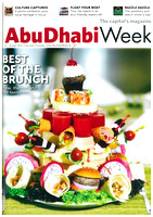 AbuDhabi Week -23Apr15-Cover with exhibition feature