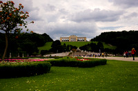 Gloriette, the Neptune Fountain and Great Parterre